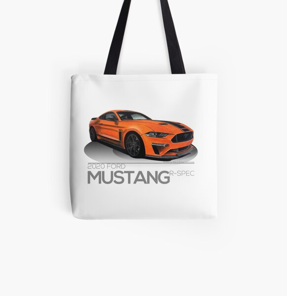 2020 Ford Mustang GT Fastback 'Enthusiasts Series' All Over Print Tote Bag