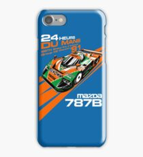 DU Mans Mazda 787B iPhone Case/Skin