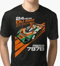 Camiseta de tejido mixto DU Mans Mazda 787B