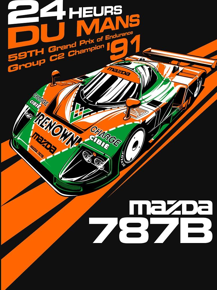 DU Mans Mazda 787B de timmym