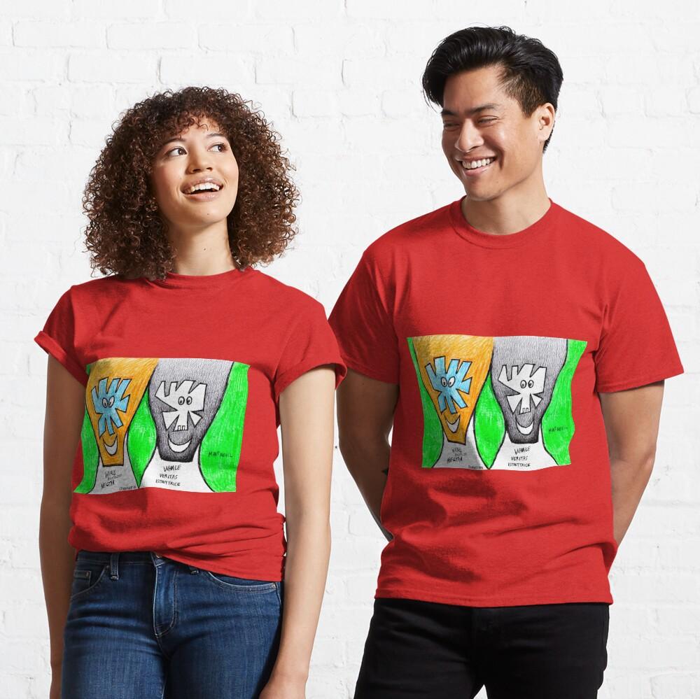Smiling Couple (original artwork) Classic T-Shirt