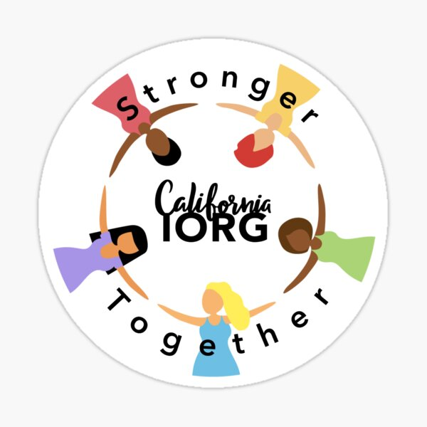 Stronger Together - Circle Sticker