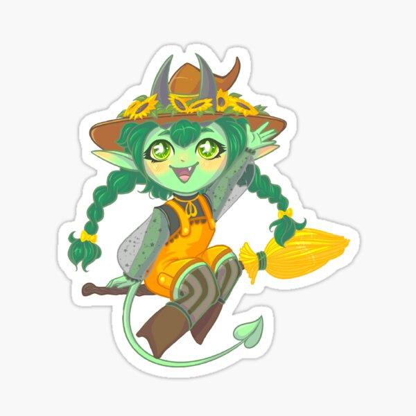 Halloween Relish Sticker