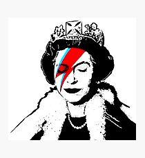 Ziggy Stardust Queen (David Bowie) Photographic Print