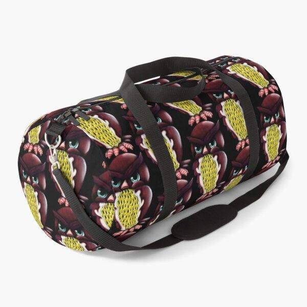 Grumpy Passion Fruit Owl Duffle Bag