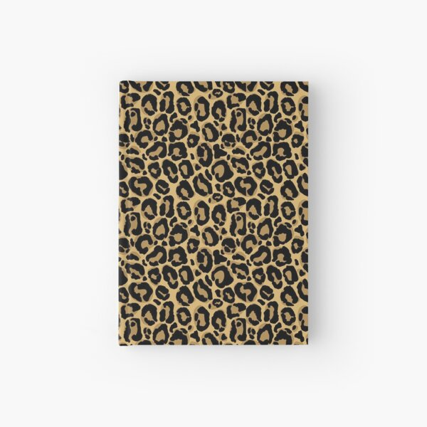 Leopard Hardcover Journal