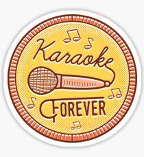 Karaoke Forever Sticker