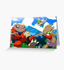Pokeball Z Greeting Card
