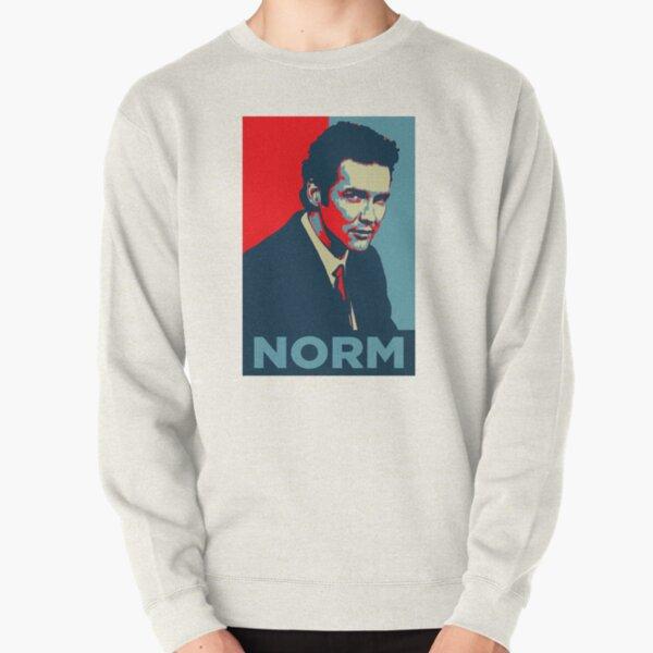 norm macdonald political poster Pullover Sweatshirt