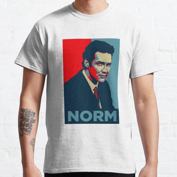 norm macdonald political poster Classic T-Shirt
