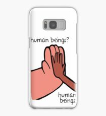 Connie & Greg - Human Beings Samsung Galaxy Case/Skin