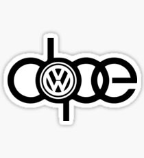 Dope VW Sticker