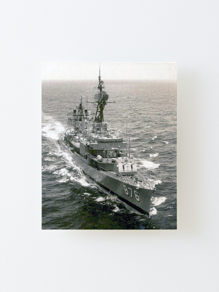 Alternate view of USS ROGERS (DD-876) SHIP'S STORE Mounted Print