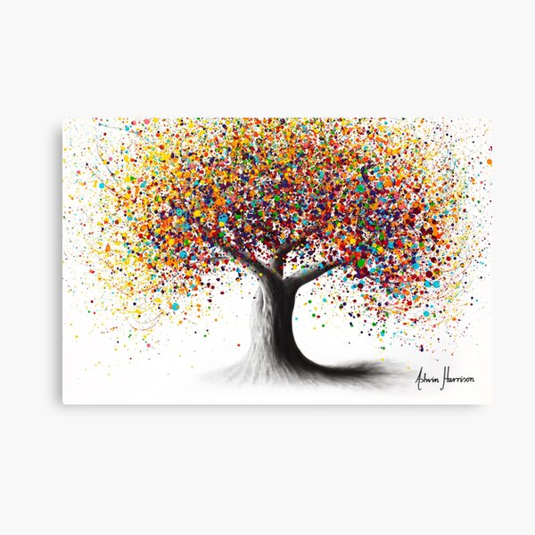 Rainbow Soul Tree  Canvas Print
