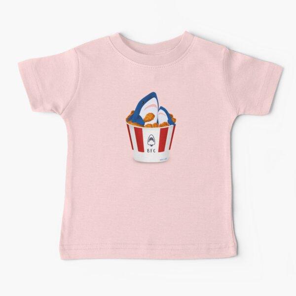 Sharks love fried chicken Baby T-Shirt