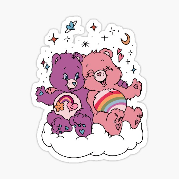 Care Bear Sticker Sticker