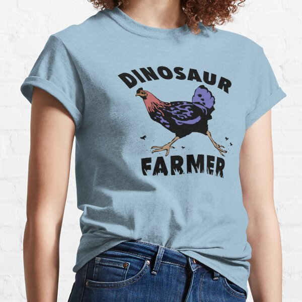 Dinosaur Farmer Classic T-Shirt