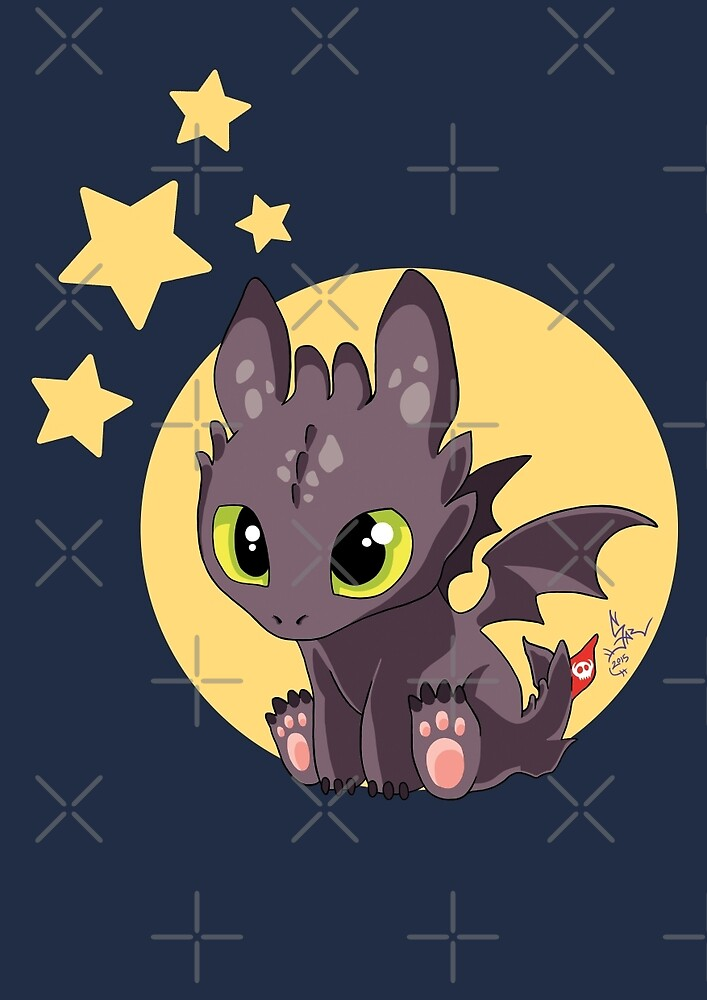 toothless by LadyCerbero