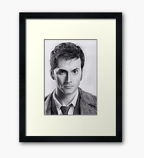 David Tennant Doctor Who No.10 Framed Print