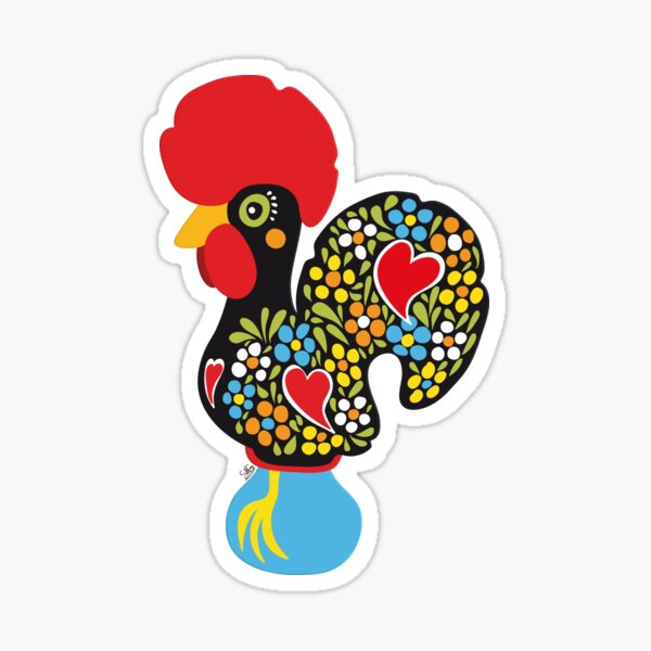 Famous Rooster #01 Sticker