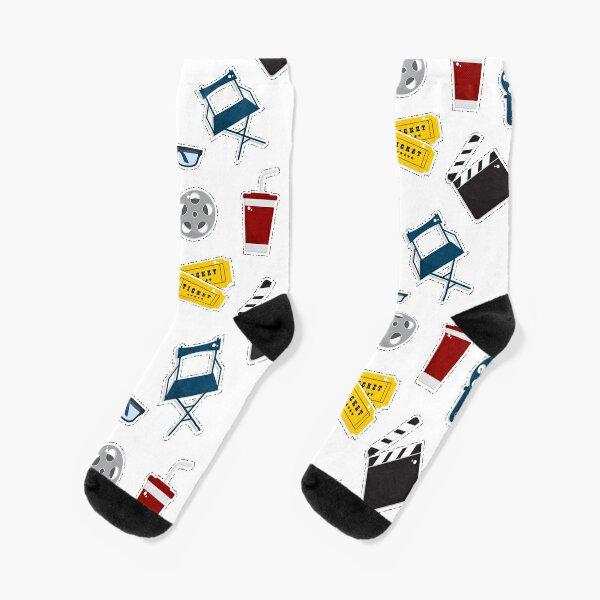 Cinema movie pattern Socks