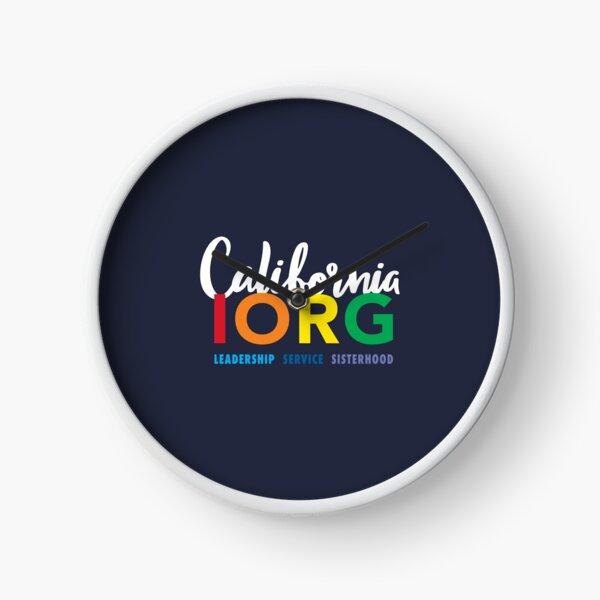 CAIORG fun logo - blue Clock