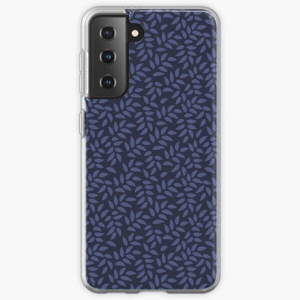 Indigo Leaves Samsung Galaxy Soft Case