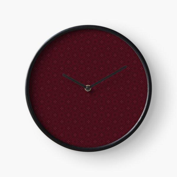 Batik Mandalas Clock