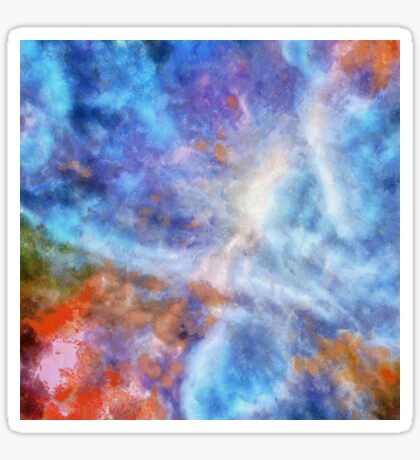 Ascending From A Dive Decorative Abstract  Art Sticker