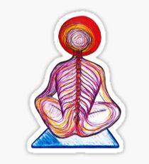 Yoga Spine Sticker