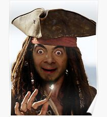 Captain Bean Poster