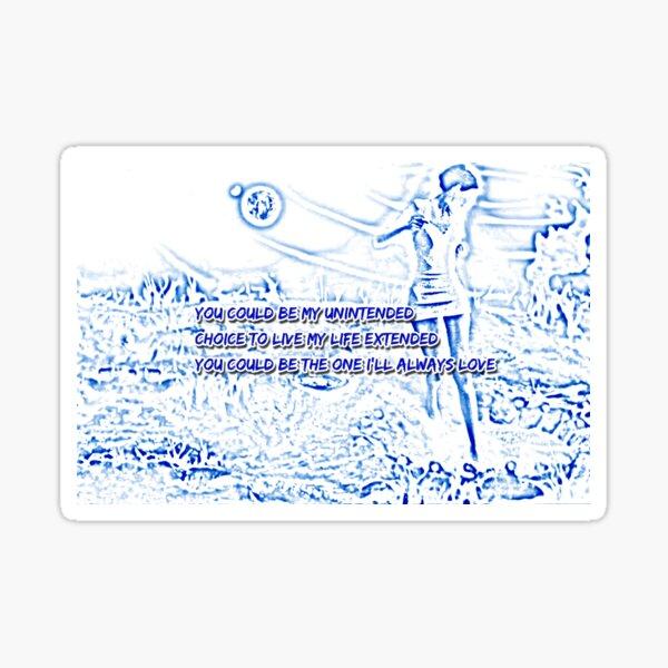 Muse involontaire Sticker
