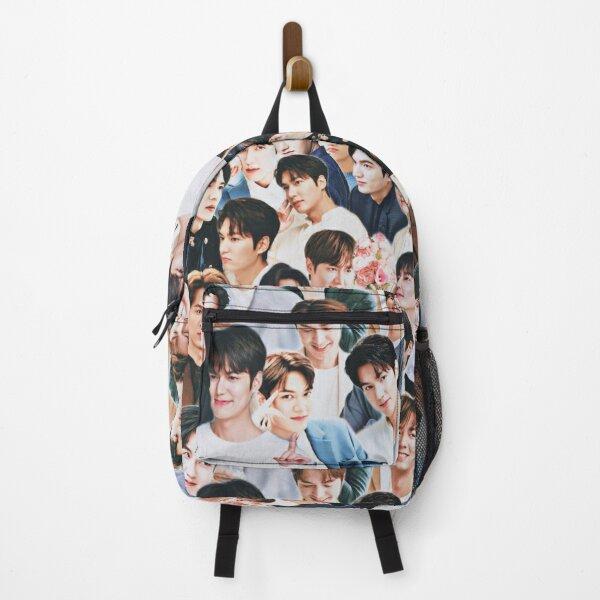 Lee Min-ho collage Backpack