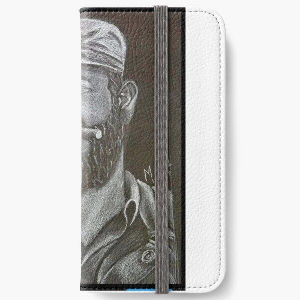 Fidel Castro art iPhone Wallet