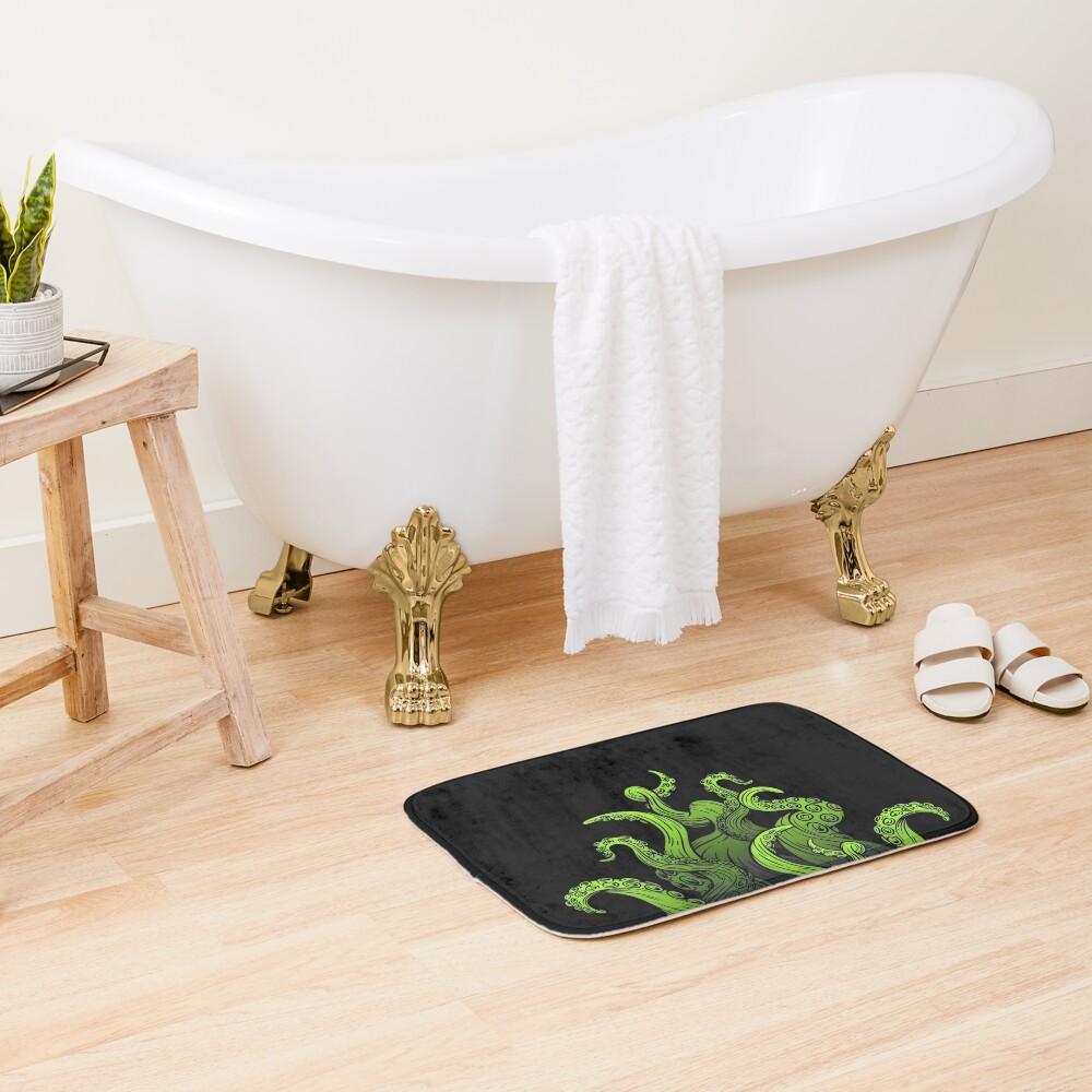 Tentacles Up Bath Mat