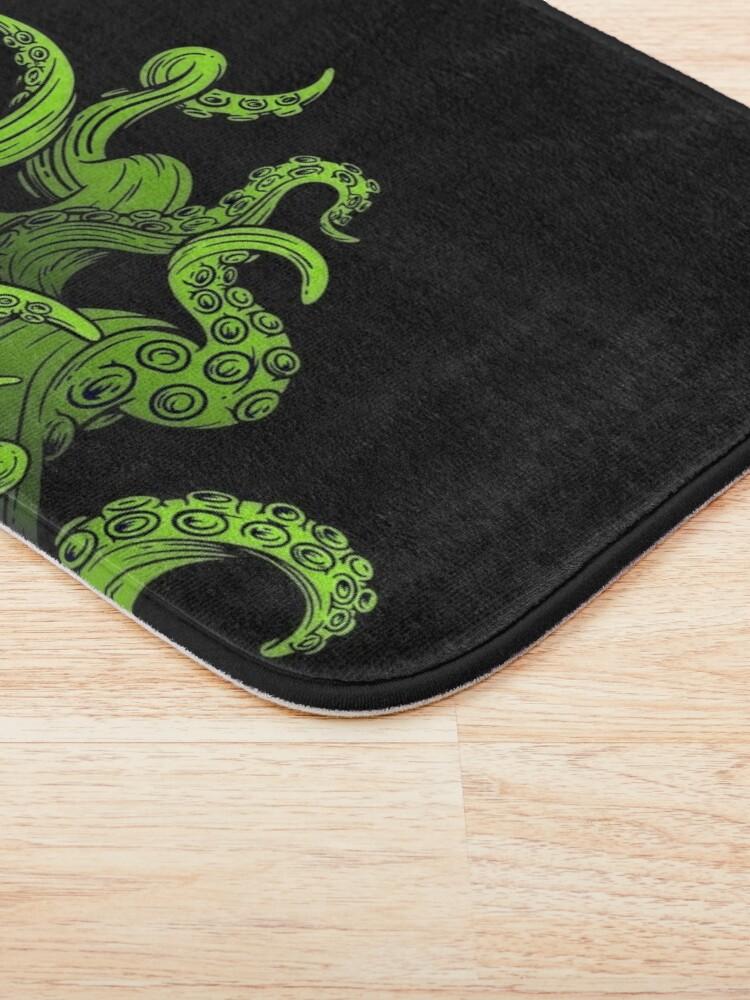 Alternate view of Tentacles Up Bath Mat