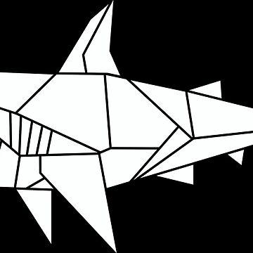 Origami Shark by CalumLamb