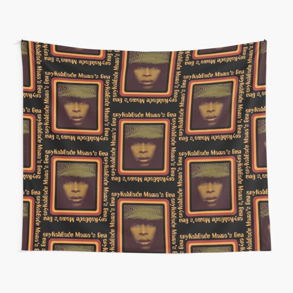 BowersJ Erykah Badu Mama_s Gun Men_s T-Shirt Black Tapestry