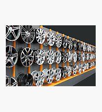 car aluminum wheels Photographic Print