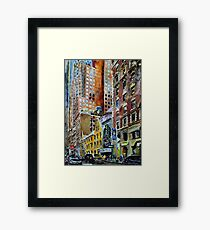 Among Giants Framed Print