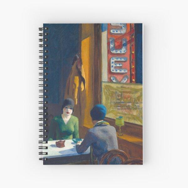Chop Suey de Edward Hopper Cuaderno de espiral