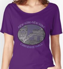 NYC-Carnegie Hall Women's Relaxed Fit T-Shirt