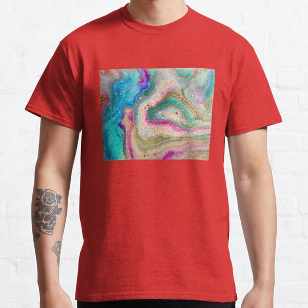 Turquoise Lace Agate  Classic T-Shirt