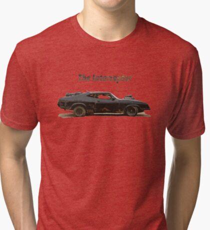 El interceptor Camiseta de tejido mixto