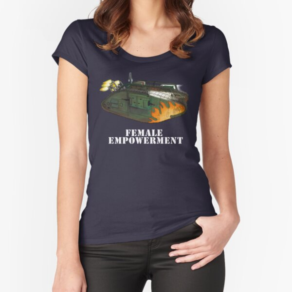 Female Empowerment Fitted Scoop T-Shirt