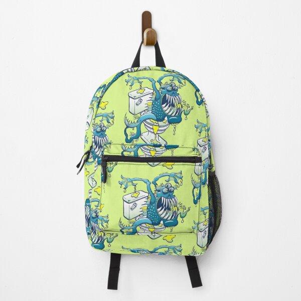 Toilet Monster Backpack