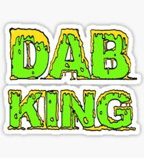 Dab King Sticker Sticker