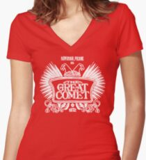 Natasha, Pierre, and the Great Comet of 1812 Women's Fitted V-Neck T-Shirt
