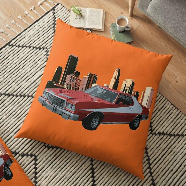 70's Starsky & Hutch Tribute Floor Pillow
