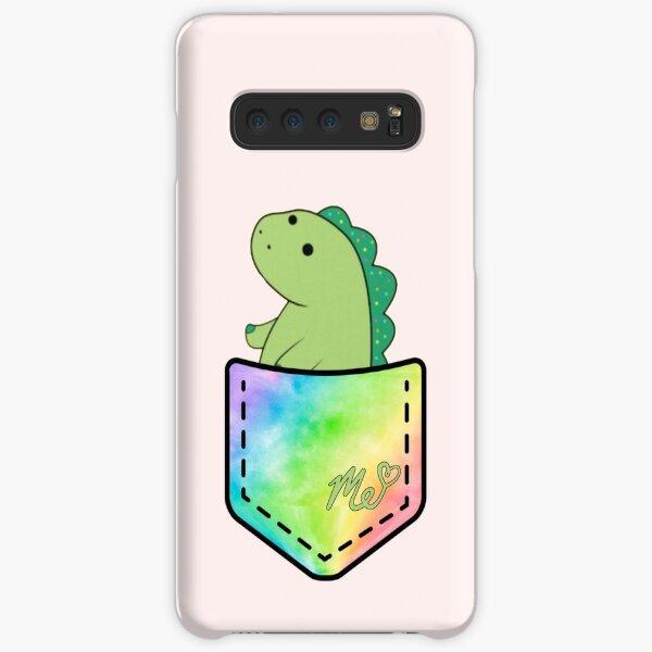 Moriah Elizabeth pickle the dinosaur inside pocket cute rainbow Samsung Galaxy Snap Case